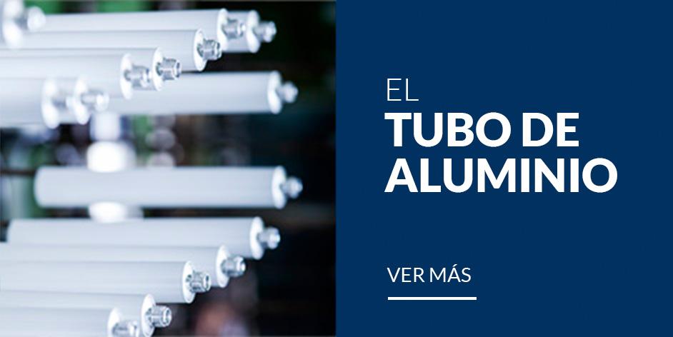 Tubo de aluminio